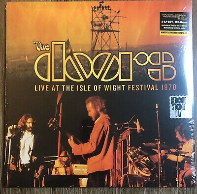 The Doors Live At The Isle Of Wight Festival Lp 2Lp 1970 Black Friday 2019 Rsd