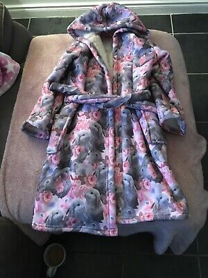 Girls Dressing Gown Age 6-7 From M&S