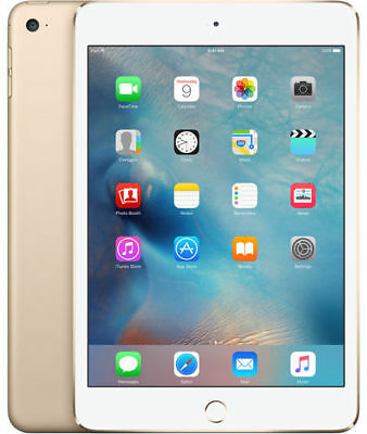 "New Sealed Apple iPad mini 4 128GB, 7.9"" Retina Display,128GB,WiFi Tablet Gold"