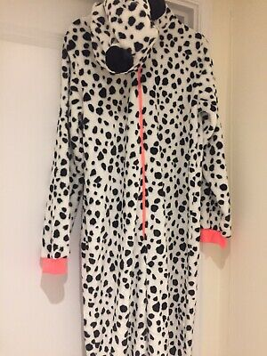 Girls Kylie New All In One Animal Print Age 13-13+ Hood Zip Front