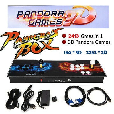 Pandora's Box 2413 in 1 Classic Video Games 2 Players Arcade Console Support TV