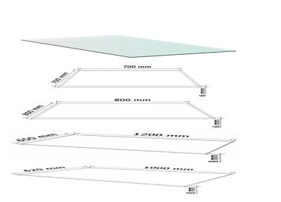 8 10mm Clear Tempered Glass Table Top Replacement Dining Coffee Table Protector 33 89 Picclick Uk