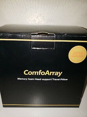 ComfoArray Head Support Travel Pillow Supportive Design for Airplane Travel