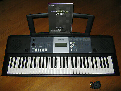 Yamaha Ypt 230 Portable Keyboard 61 Keys Electronic Piano