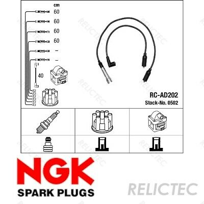 Ignition Leads Kit Cable Audi:100,A6,80 N10052505 N10052505 N10052505 N10052505