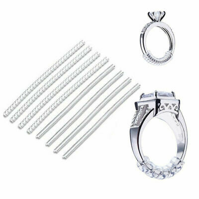 Women Ring Size Adjuster Snuggies Insert Guard Tightener Reducer Resizing Fitter