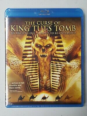 The Curse of King Tut's Tomb: The Complete Miniseries BLU-RAY **NEW+SEALED**