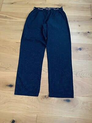 French Connection FCUK Mens Navy Lounge Pants Pyjama Bottoms One Size OS