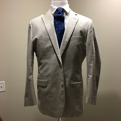 Brooks Brothers Tan Complete Suit 1818 Fitzgerald 44L/36W Pants
