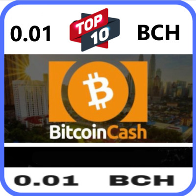 Bitcoin Cash 0.01 BCH - MINING CONTRACT - Crypto Currency - Top 4 Coin!! Bitcoin