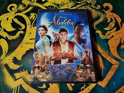 Aladdin Live Action Will Smith Movie (DVD, 2019) New and Sealed!