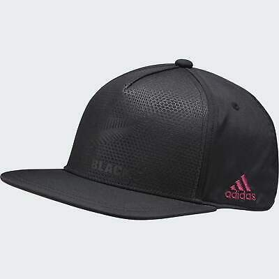 NEW All Blacks Flat Cap By Adidas