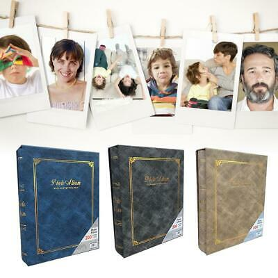 Photo Album 200 Photos Pages Large Capacity Photo Albums for Wedding Gift Valent