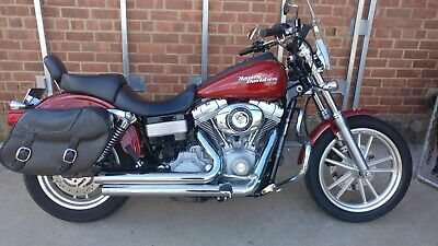 2007 Harley-Davidson Dyna  2007 Harley Davidson Dyna Super Glide 14K Miles Saddle Bags And Windshield Nice