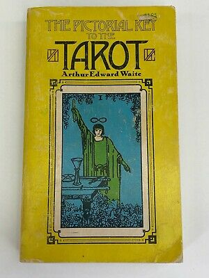 A.E. Waite The Pictorial Key To The Tarot 1971 1st Edition Steiner Books