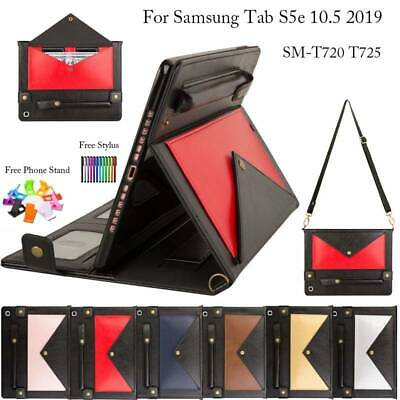 For Samsung Galaxy Tab S5e T720 T725 Case Smart Folio PU Leather Sleep Cover