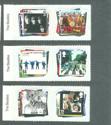 The Beatles Great Britain Music set mnh 2007