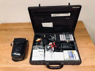 SONY Video Camera Recorder Hi8 CCD-TR805E c/w with accessories, cassette tapes