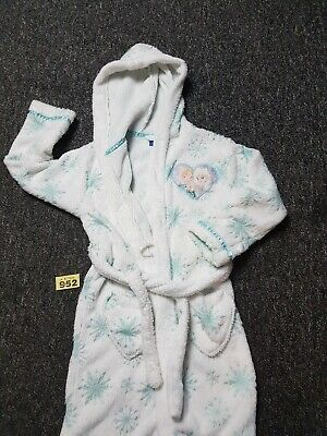 Girls Age 7 To 8-years Frozen Dressing Gown