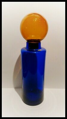 SUPERB VINTAGE MID CENTURY BOTTLE DECANTER WITH BALL STOPPER 60s
