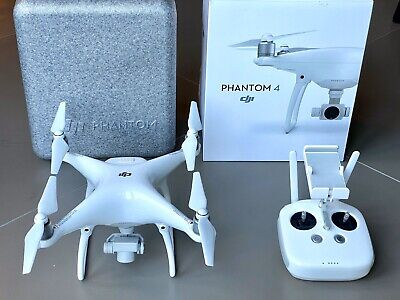 DJI Phantom 4 Aerial UAV Drone Quadcopter - White