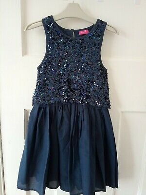 Next Girls Sequined Party Dress Age 7