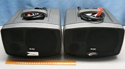 Califone PresentationPRO Portable PA system Model PA-300 Each Sold Separately