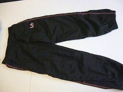 Girl's LA Gear Tracksuit bottoms Fully lined waist 60cms to 72cms