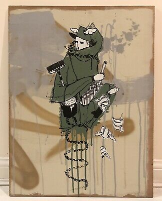 D*Face / Word To Mother Collaboration Print - Signed - Street Art - Dface
