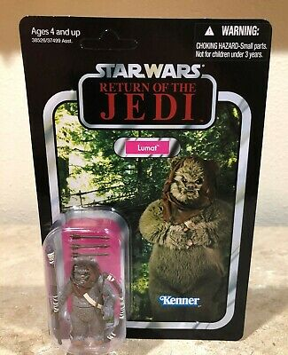 Star Wars Hasbro Vintage Collection #104 Lumat Ewok Figure Unpunched Case Fresh