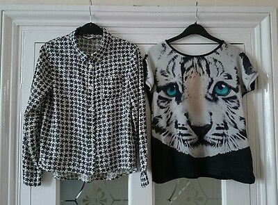Girl's set of two H&M tops, age 8-10yrs