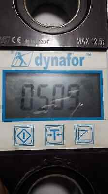 Dynafor Weigh / Load Indicator - Max Capacity 12.5 Tonne