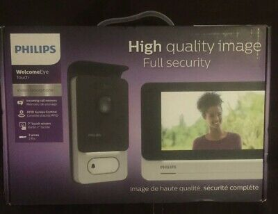 Visiophone Tactile Philips WelcomeEye Touch
