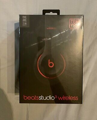 Beats by Dr. Dre Studio3 Wireless Over-ear Headphones - Decade Black/Red