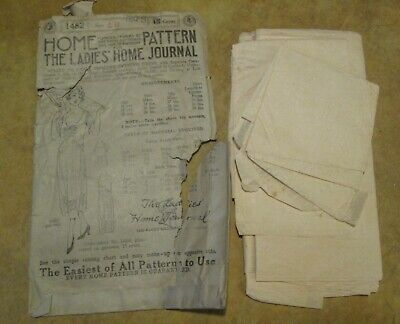 Antique Sewing Pattern, Ladies' Home Journal, Evening Dress1905 ,