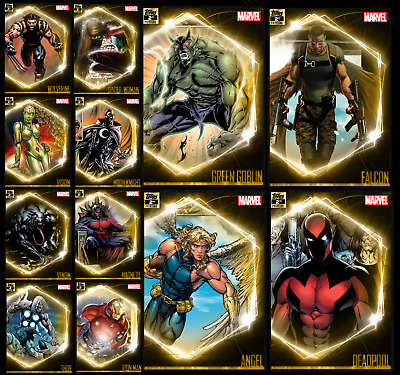 Topps Marvel Collect Card Trader Ultimate Universe 2Nd Printing [12 Gold Cards]