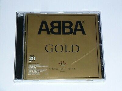 Abba Gold Hits 30Th Anniversary Uk Cd Album, Ex Cond + Crack On Case (2004)