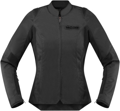 Icon Women's Overlord SB2 Jacket - XS Stealth