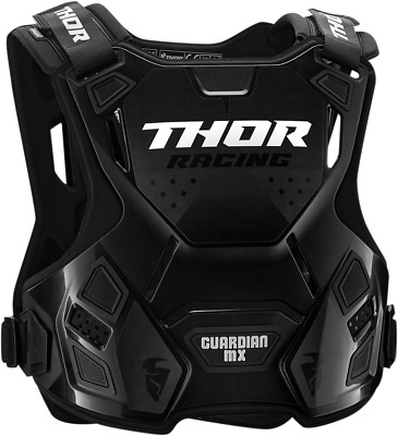 Thor Guardian Chest Guard - XL/2X Charcoal/Black 2701-0869