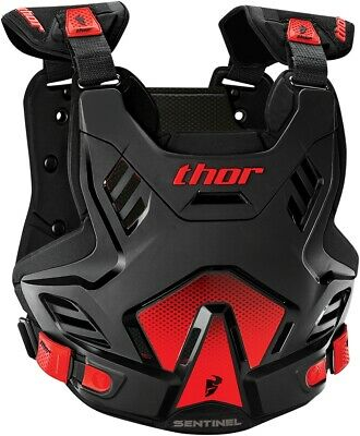 Thor Sentinel GP Protector - Sm/Md Black/Red 2701-0752