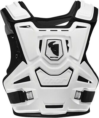 Thor Sentinel CE Chest Guard - Adult White 2701-0781
