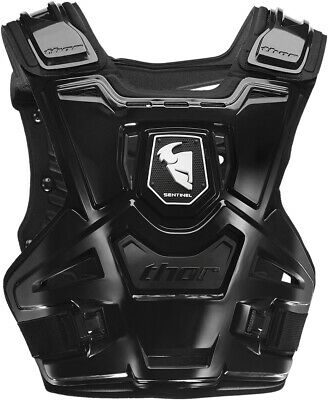 Thor Sentinel CE Chest Guard - Adult Black 2701-0780