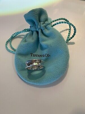 Tiffany & Co Silver Sterling Silver 925 Ring Sz 6.5/7