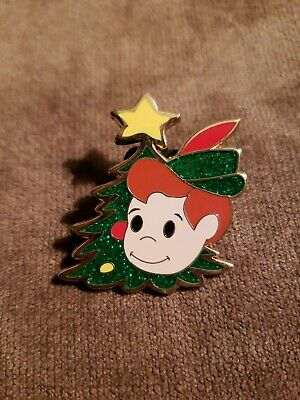 Disney DLR Disneyland Its a Small World Holiday Peter Pan Mystery pin LE 500