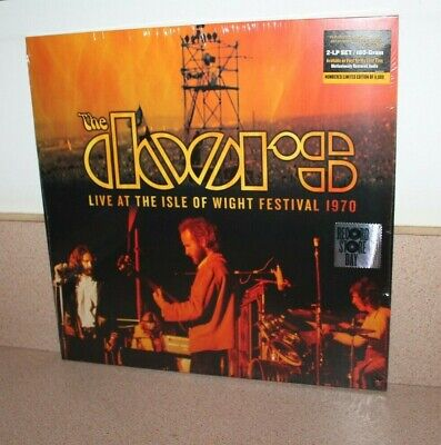 The Doors Live at the Isle of Wight NEW SEALED 2 vinyl LP Black Friday RSD 2019