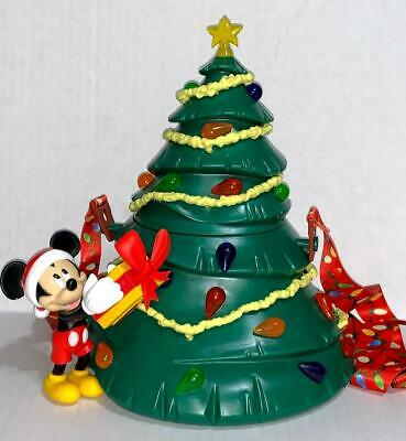 Disney Parks 2019 Mickey's Christmas Tree Holiday Light Up Popcorn Bucket *New*