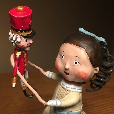 Lori Mitchell ESC Clara With Nutcracker Suite Figure 2018 Folk Art Christmas
