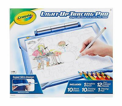 Crayola Light-Up Tracing Pad Drawing Board, Blue, Multi