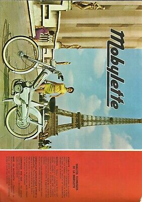 Mobylette  / Document Publicitaire Concession / Depliant / Motobecane