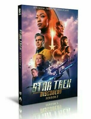 Star Trek Discovery: Season 2  DVD 4-Disc (Sealed) Free Fast Shipping!!